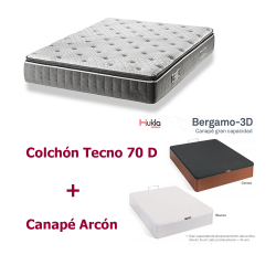 Canape y Colchón Tecno 70