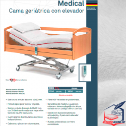 Cama Elevable Medical
